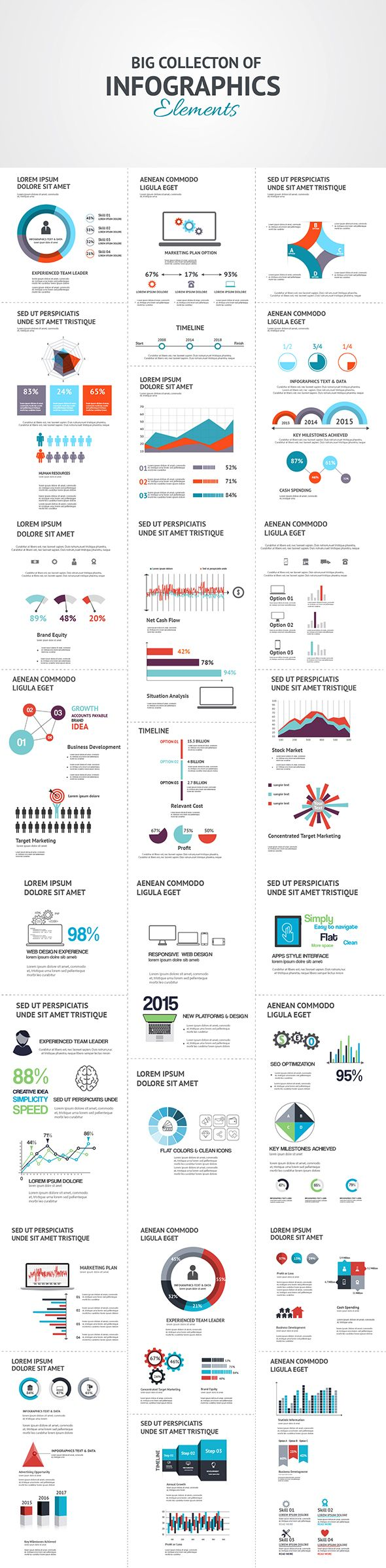 Infographics on Behance
