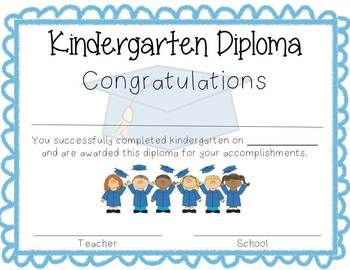 kindergarten graduation certificate wording  kindergarten graduation diplomas templates - Commonpence.co