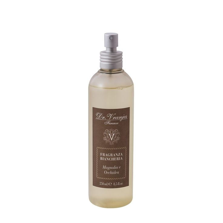 Fabric Perfume Magnolia and Orhcid Dr. Vranjes 250 ml    Fabric perfume Dr. Vranjes with'Magnolia and Orchid'perfume to be used on them without staining them, may be used for ironing clothes, sheets, curtains, tablecloths, cupboards, etc. 250 ml content.    https://www.maisonparfum.com/en/perfumed-for-textiles/2800-fabric-perfume-magnolia-and-orhcid-dr-vranjes-250-ml-8033196276838.html    #perfume #homefragrances #parfum