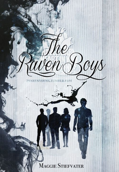 The Raven Boys by Maggie Stiefvater alternate cover by penrynyoung