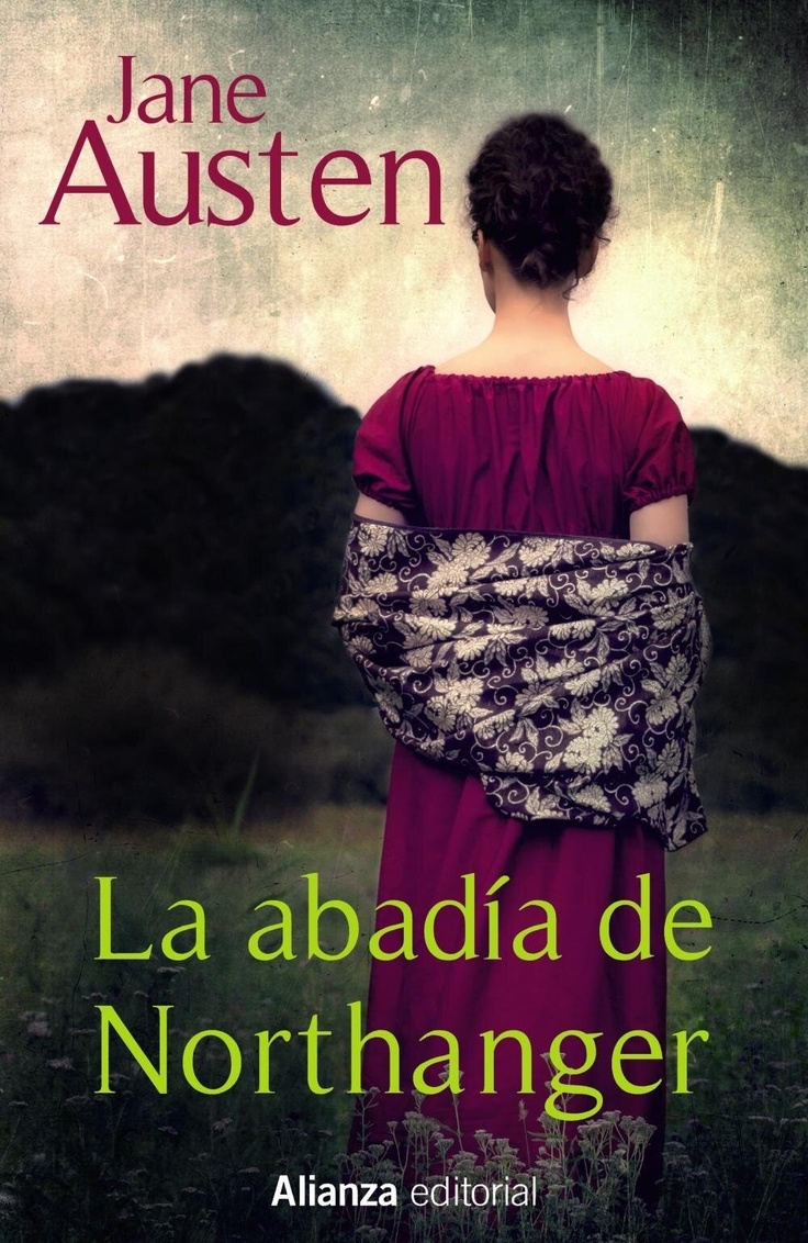 published book cover for Jane Austen by Joana Kruse - La abadia di Northanger