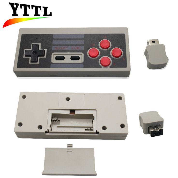 New Wireless Turbo Controller for NES Classic Edition and Play Gaming Controller Gamepad for Nintendo NES Mini Classic Edition