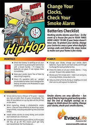 Download The Change Your Clocks Check Your Smoke Alarm Smoke Alarm Checklist