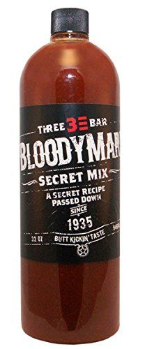 Three Bar Bloody Mary Mix - 5 pack of 32 oz. Bottles ** Continue to the product at the image link.