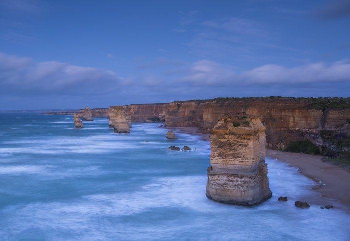 12 Апостолов, Великая Океанская дорога, Виктория, Австралия.