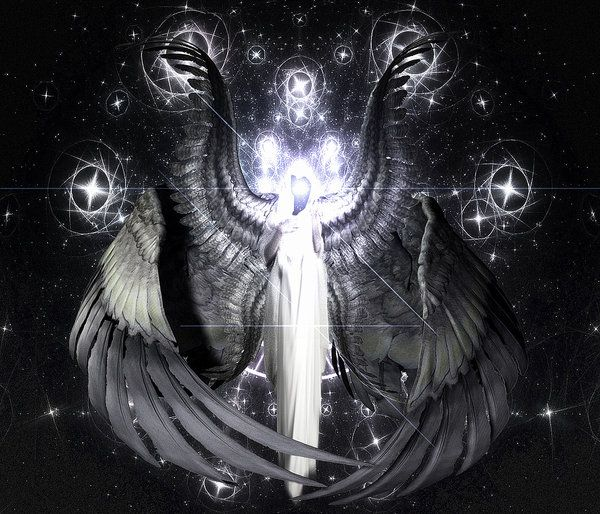 """Metatron represents one of the triune of consciousness - that of Love - which make up the fundamental human life force. Metatron supports the humanity when we are choosing to enter the state of initiation, reducing fear and polarity on both individual and collective levels. Metatron says """"You will come through me"""" because the Metatron vibration is present during reductions of polarity to help maintain continuity in major shift times."""