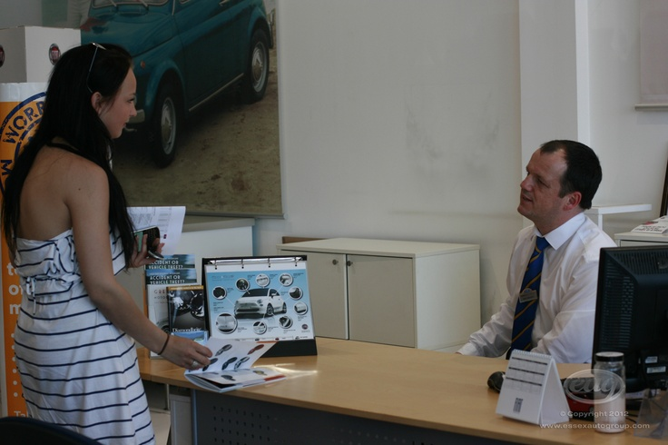 A warm welcome from our staff at Essex Auto Group.