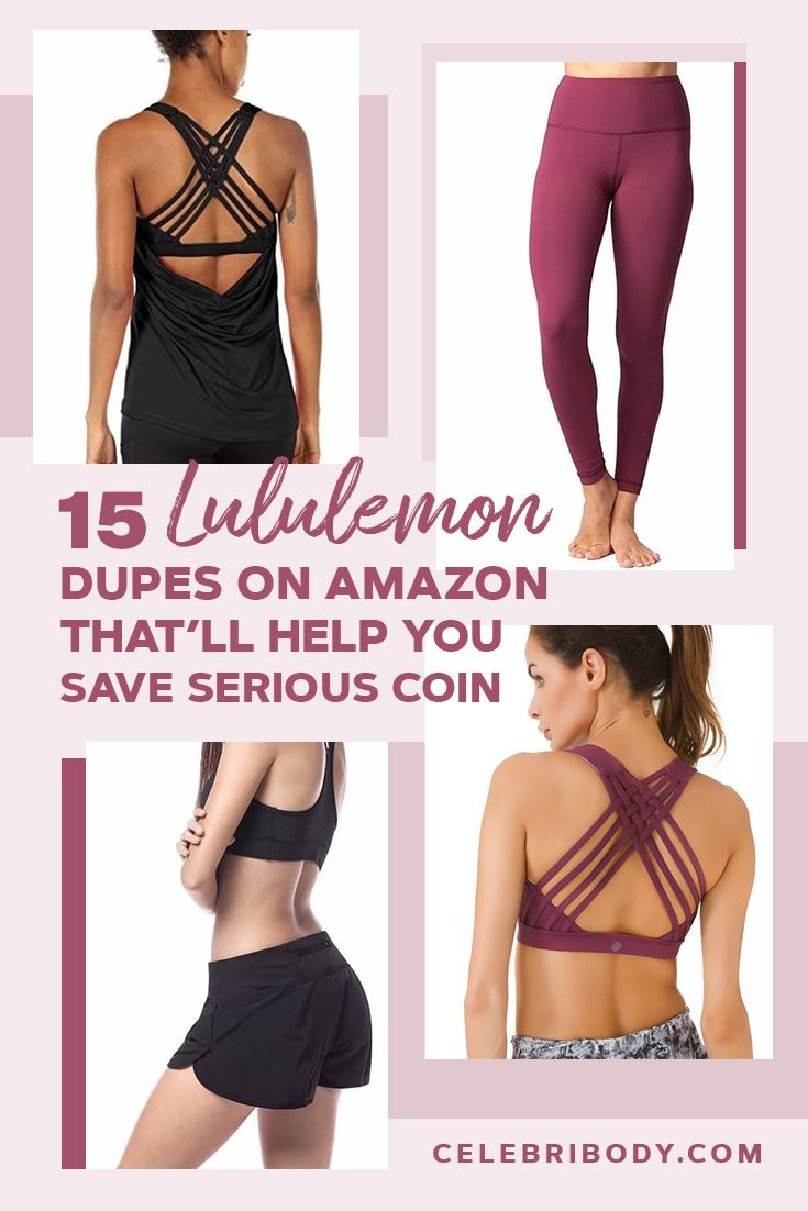 966564692a Lululemon leggings and sports bras are amazing, but their price tags  aren't. Luckily, there are a ton of Lululemon dupes that fit into the cheap  workout ...