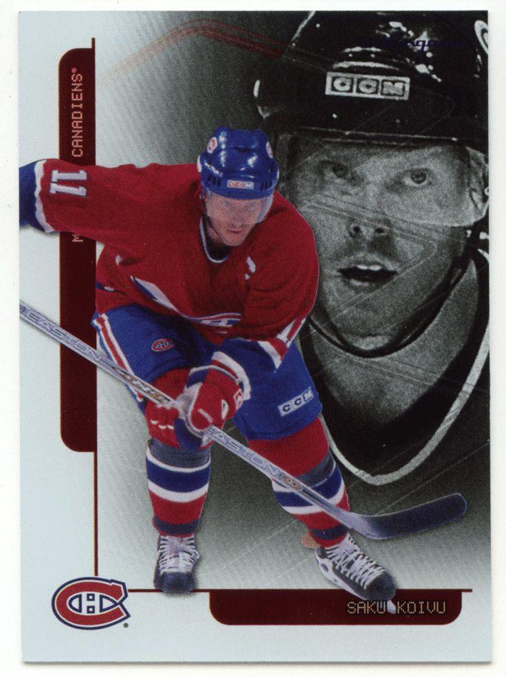 Saku Koivu # F-17 - 2003-04 ITG Toronto Star Hockey Foil