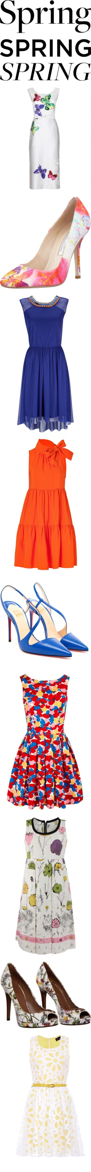 """""""What's Your Favorite Dress for Spring?"""" by polyvore-editorial on Polyvore"""