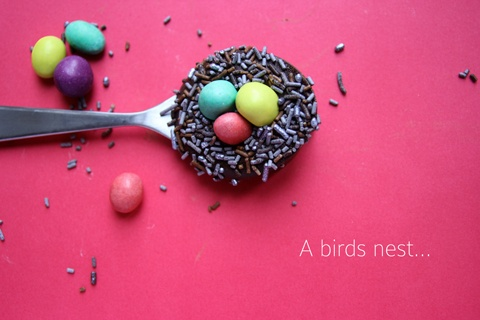 A spoon full of Chocolate. #GoodCupcakesGood