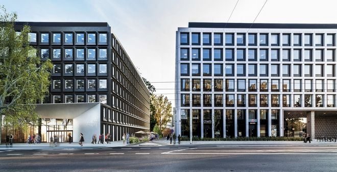 Nowy biurowiec stanie przy Szczytnickiej. Ma być podobny do sąsiedniego obiektu • Inwestycje komercyjne - fotogaleria • tuwroclaw.com