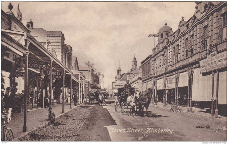 kimberley south africa 1870s