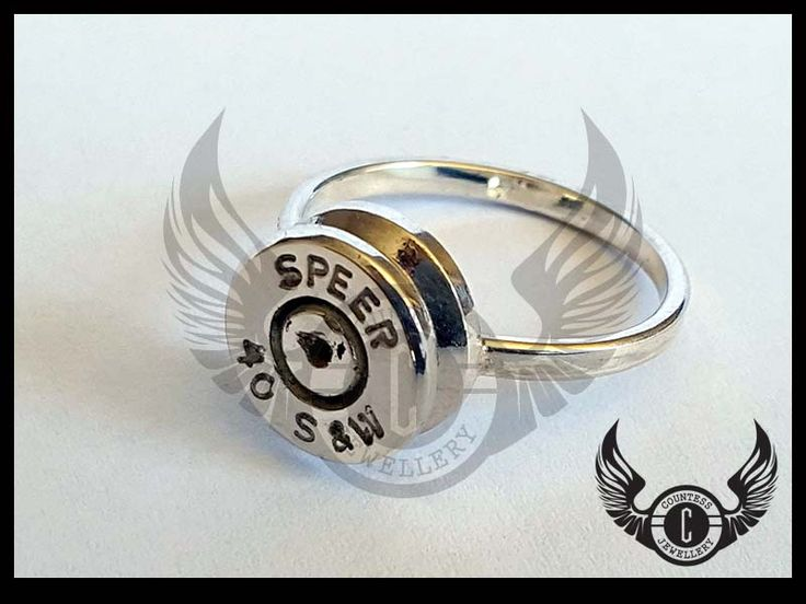 Bullet ring by Countess Jewellery