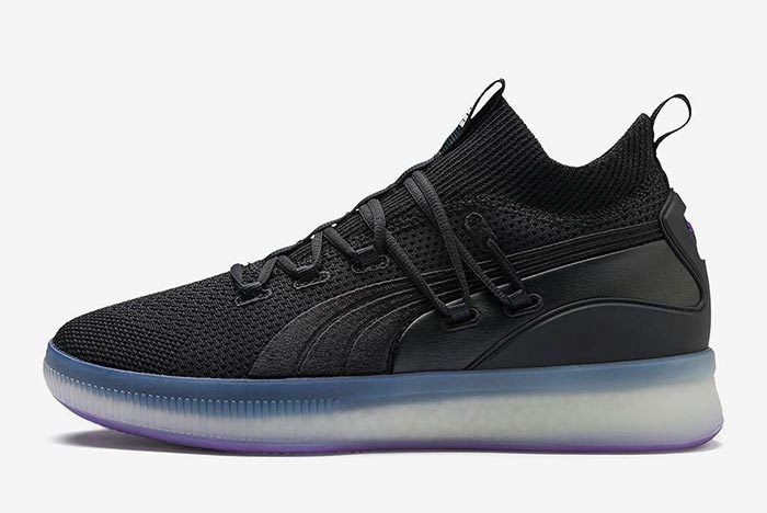 4135ff45c7bc PUMA Clyde Court Disrupt Prepares to Glow Purple