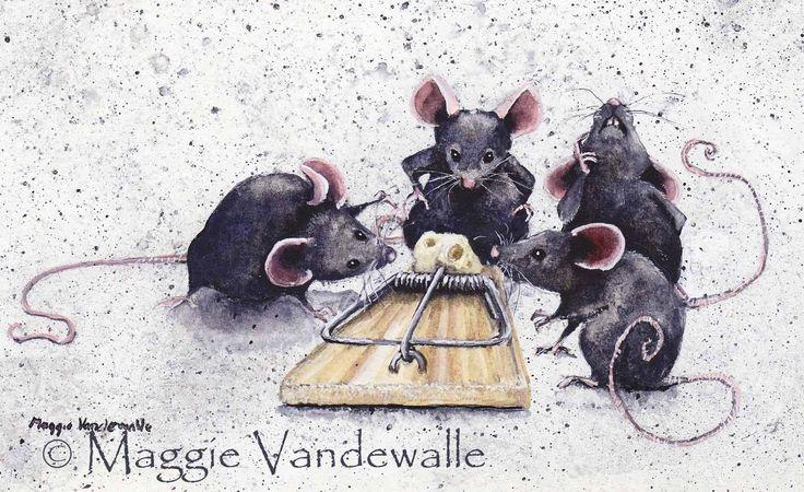 Maggie Vandewalle   WATERCOLOR - GOUACHE