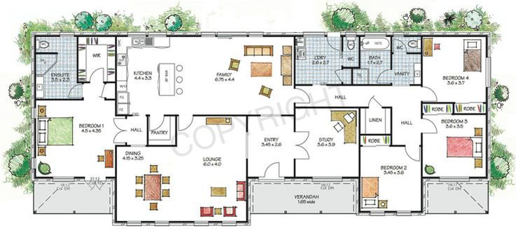 The Hawkesbury floor plan - Download a PDF here - Paal Kit Homes offer easy to build steel frame kit homes for the owner builder and have display / sale centres in Sydney NSW, Melbourne VIC, Brisbane QLD, Townsville NTH QLD, Perth WA.