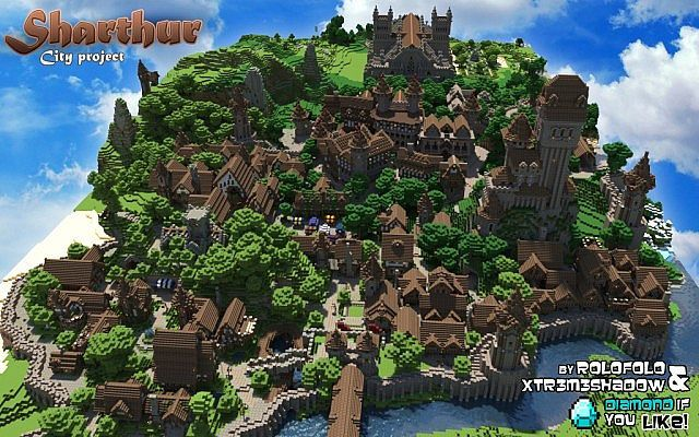Minecraft Medieval City Download 17 Best images about K...