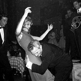 Always having fun on Sundays. Look at them... #iconic #greek #legend #melinamercouri #auteur #julesdassin #partying #cannes #filmfestival #Sunday #mood #athens #february2017