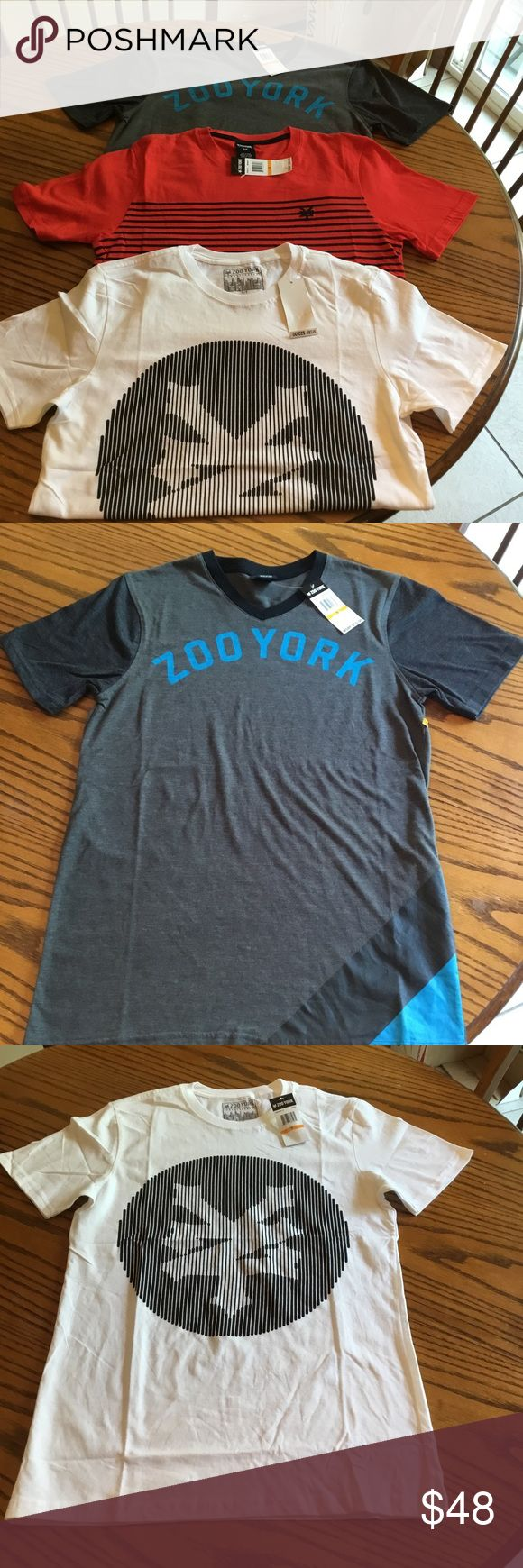 Lot of 3 Zoo York T-shirts All in perfect new condition. Smoke free home. Zoo York Shirts Tees - Short Sleeve
