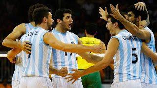 Blog Esportivo do Suíço:  Vôlei masculino Argentina conquista Pré-Olímpico e garante vaga para Rio 2016