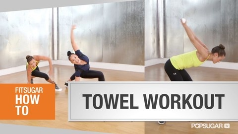 Towel Workout From Madonna's Trainer