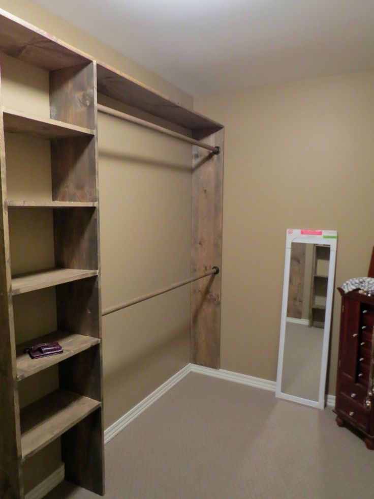 Small closets  Let s Just Build a House Walk in No more living out Best 25 Diy closet ideas on Pinterest Closet remodel