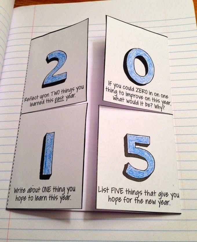 Free Interactive 2015 New Year Writing Activities
