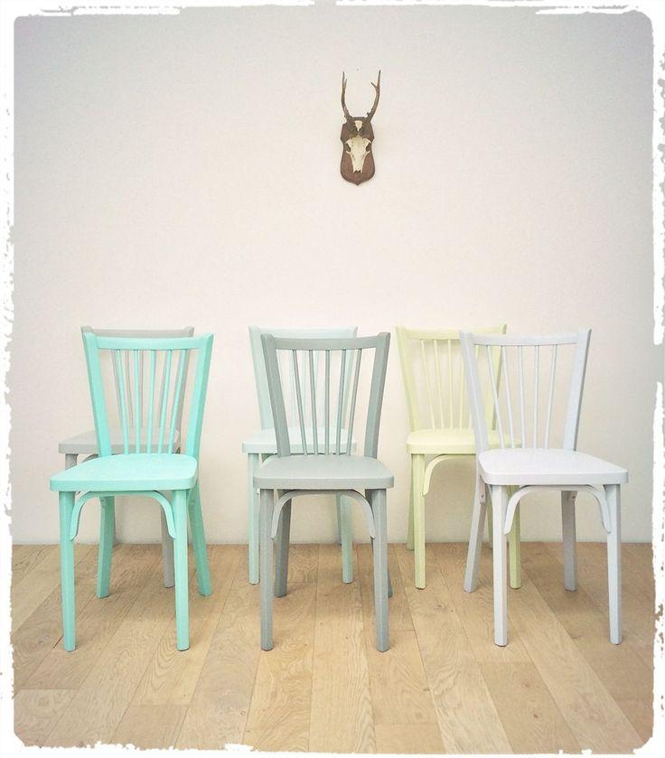 Les 25 meilleures id es de la cat gorie chaise bistrot sur for Table et chaise bistrot
