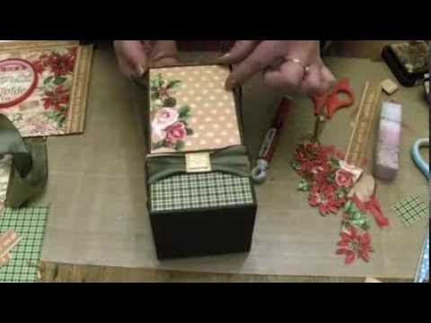 ▶ Lets Make Series 15 How to make a Candle Gift Box - YouTube