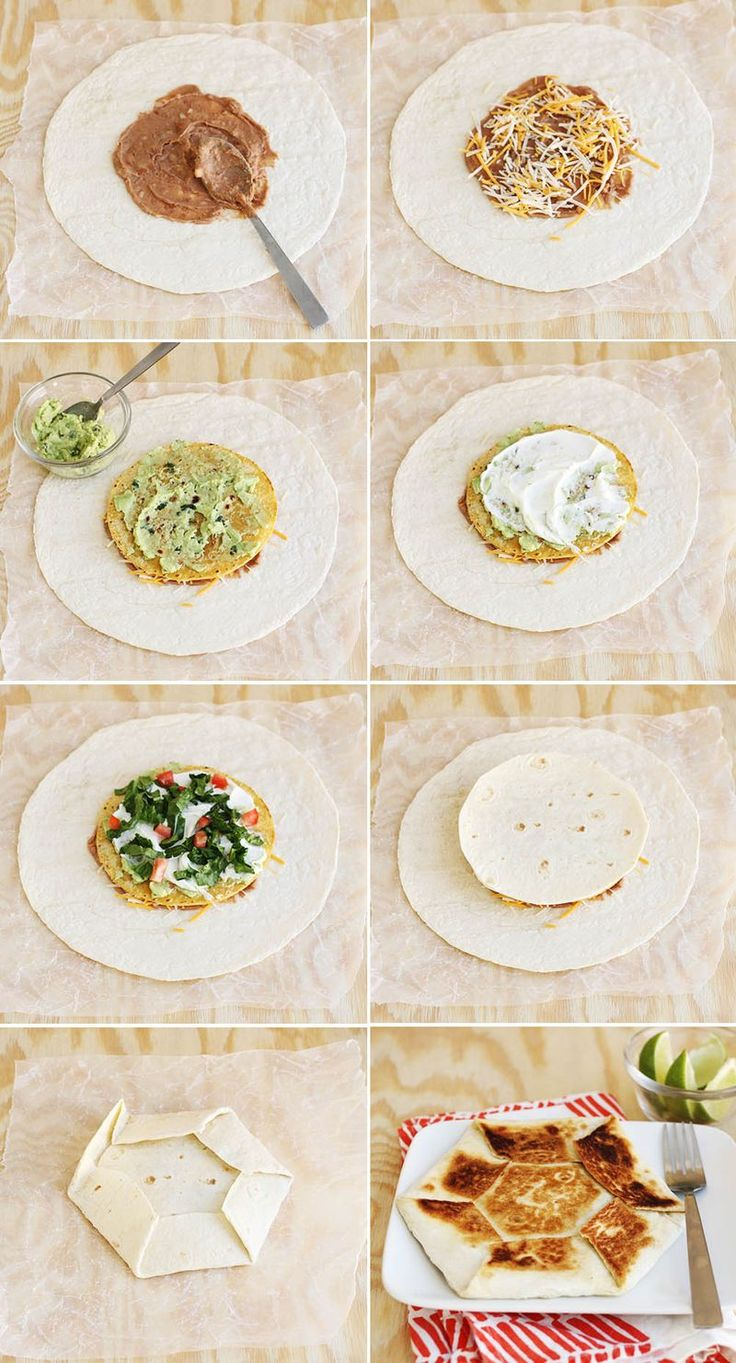 How to make a crunch wrap supreme at home!