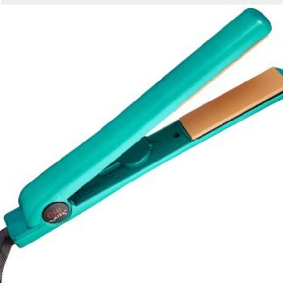 Chi air ceramic straightener , used twice Chi air ceramic straightener , used twice. I have very curly hair and decided it's not good to keep straightening it , this straightener is basically brand new with box ! Chi Other
