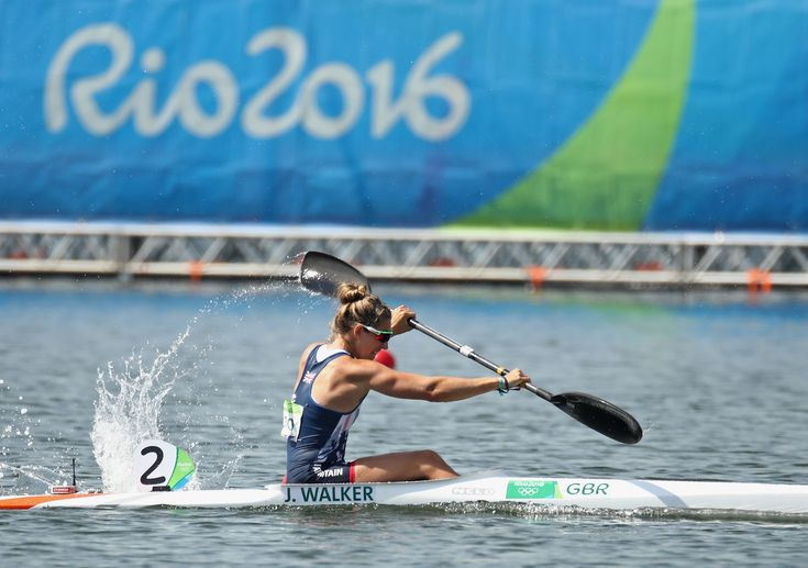 Canoe spriner Jess Walker at Rio 2016