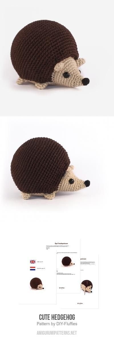 Cute Hedgehog Amigurumi Pattern