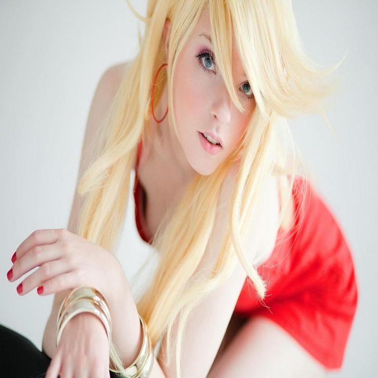 Blonde girl red dress blond beautiful hd wallpaper