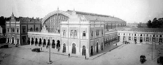Estación de Córdoba, 1901 (Actual Plaza de Armas)
