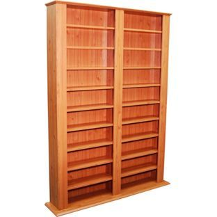buy maximus pine cd and dvd media storage unit at argoscouk