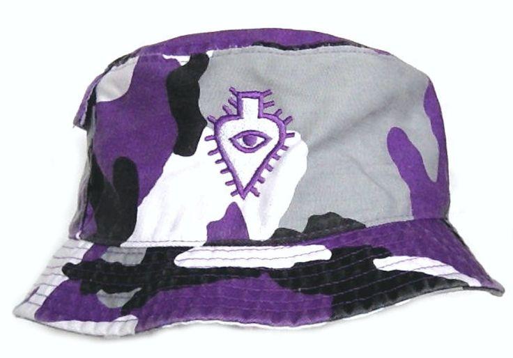 Luaka Bop - Purple Camo Bucket Hat