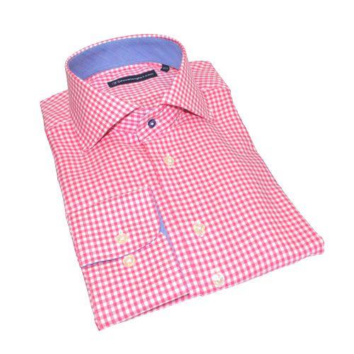 Sleeve7 extra lange Hemden, Oxford rosa   #rosa #hemden #shirts #fashion #extralang #sleeve7 #DressShirt #SlimFit #cotton