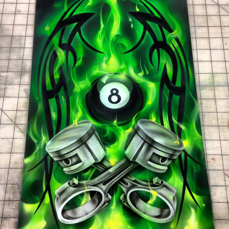 Airbrush Rendezvous workshop Project
