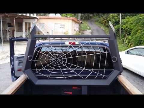 Custom Headache Rack Stack On Ford F350 6.0   YouTube | Truck Stuff |  Pinterest | Ford, Roof Rack And Custom Truck Beds