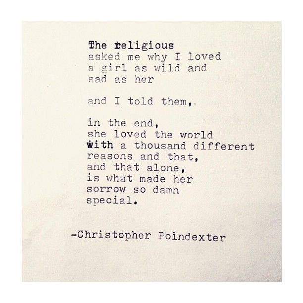 The Blooming of Madness poem #124 written by Christopher Poindexter
