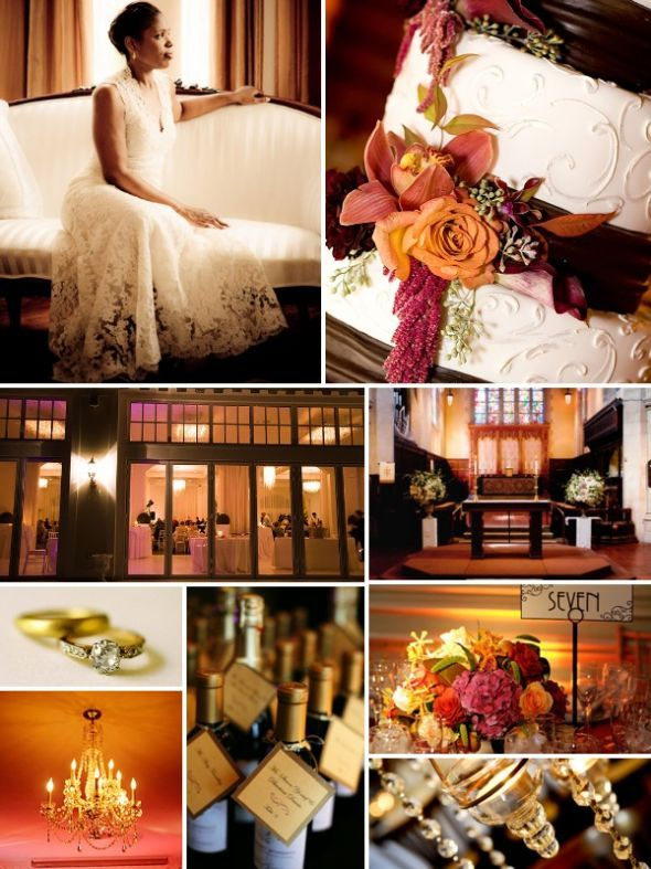 1930's INSPIRED WEDDING RECEPTIONS | VINTAGE, FALL, DIAMONDS 1930'S THEME INSPIRATION BOARD