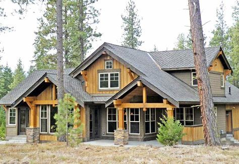 Marvelous Mountain Home - 23483JD | 1st Floor Master Suite, Bonus Room, Butler Walk-in Pantry, CAD Available, Corner Lot, Craftsman, Loft, Mountain, Northwest, PDF, Photo Gallery, Vacation | Architectural Designs