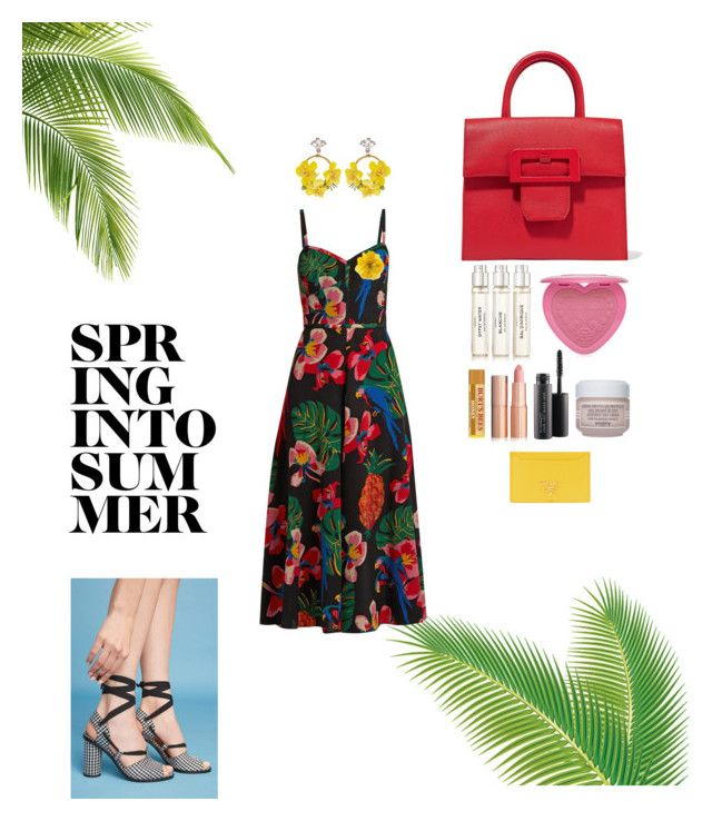 """Summer nights"" by laylasulieman on Polyvore featuring Magro Cardona, Maison Margiela, VANINA, Byredo, Too Faced Cosmetics, Valentino, MAC Cosmetics, Sisley, Gucci and Prada"