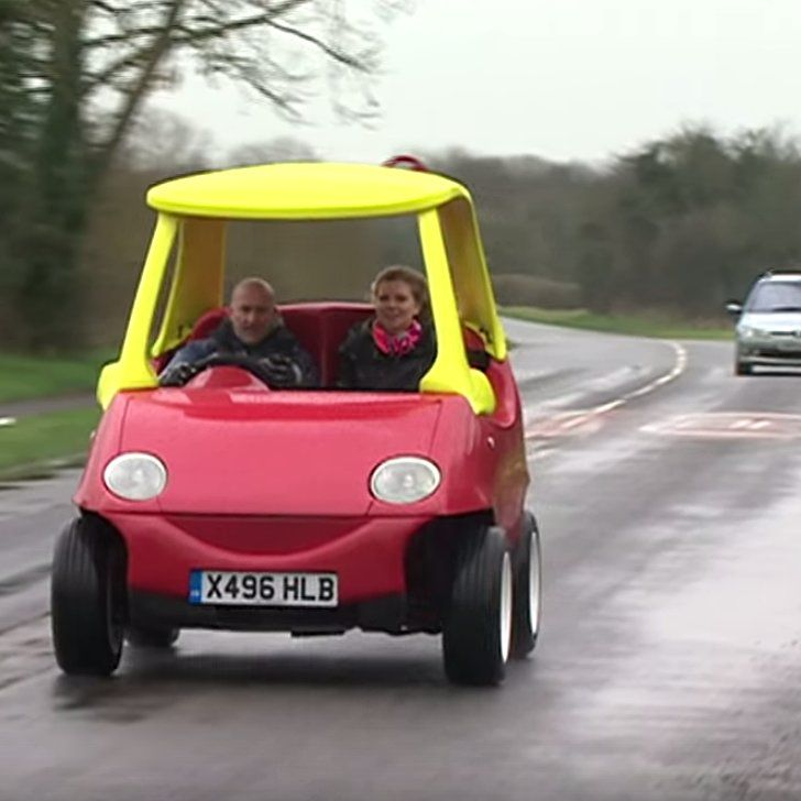 You Can Now Buy a Fully Drivable Adult-Size Little Tikes Car