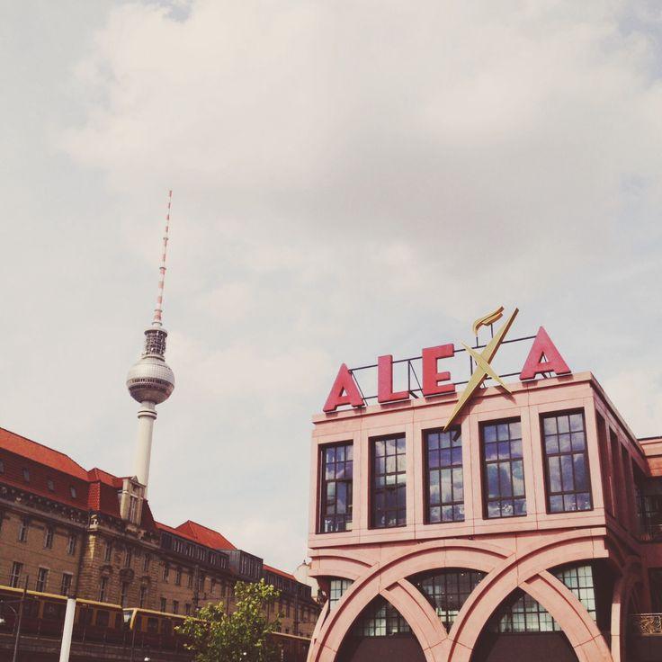 Alexa mallið í Berlín