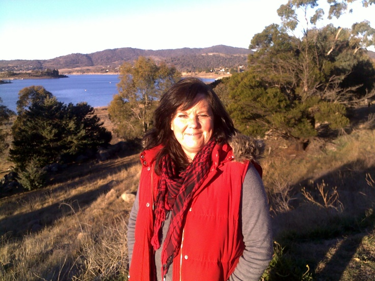 Jindabyne in the snowy mountains.