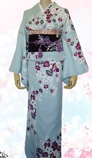 Traditional japanese kimono for women.