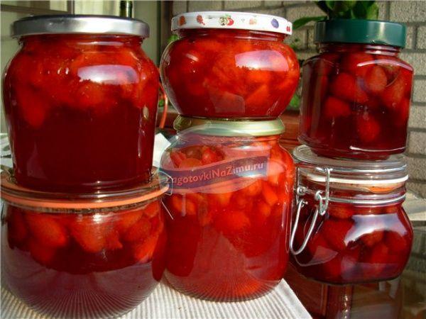 варенье из клубники с целыми ягодами: популярные рецепты с фото